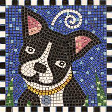 "Mosaik Bilder Mosaik Bild ""Hund"""