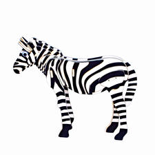 "3D Holz-Puzzle ""Zebra"" Gestalten mit Holz."