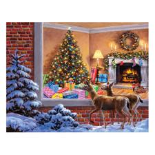 """Puzzle """"Das Weihnachtszimmer"""" Ein Spaß für die ganze Familie – spannend und entspannend zugleich."""