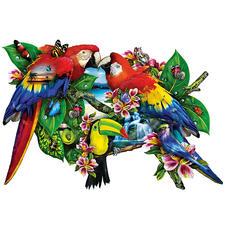 """Puzzle """"Papageien"""" Ein Spaß für die ganze Familie – spannend und entspannend zugleich."""
