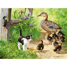 Puzzle - Enten-Spaziergang Ein Spaß für die ganze Familie – spannend und entspannend zugleich.