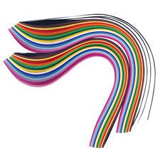 Quilling-Streifen, bunt Quilling – eine Jahrhunderte alte Technik wieder neu entdeckt. Aus dünnen Papierstreifen entstehen zauberhafte Dekorationen.