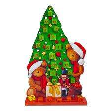 XL-Adventskalender Tannenbaum oder Santa Claus.