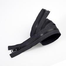 Reißverschluss, Schwarz, 60 cm
