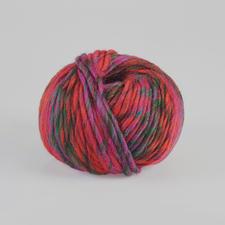 807 Rot/Violett/Flaschengrün