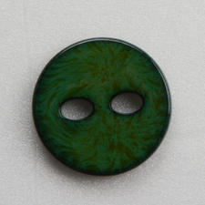 Knopf Emaille-Optik, Grün, Ø 25 mm, 1 Stück