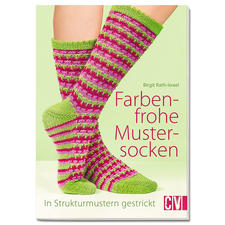 """Buch """"Farbenfrohe Mustersocken"""""""