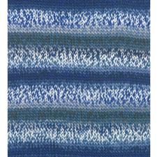 124 Blue Mood, Maschenbild glatt rechts