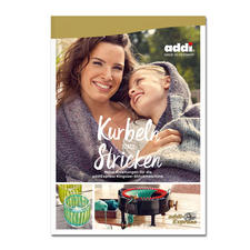 """Buch addiExpress """"Kurbeln statt Stricken"""""""