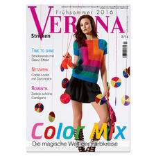 "Heft ""Verena 2/2016"" Color Mix - Die magische Welt der Farbkreise."