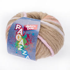 115 Nougat/Rohweiß/Rosa/Orange