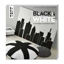 """Buch """" Black & White – Accessoires & Wohndeko häkeln"""" Black & White – Accessoires & Wohndeko häkeln"""