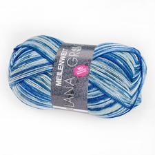 3711 Blau/Stahlgrau/Weiß
