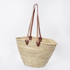 Korbtasche aus Palmblatt Korbtasche zum individuellen Gestalten.