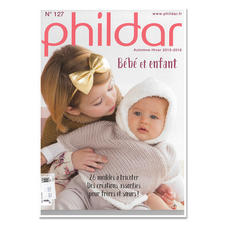 """Heft """"Phildar Kinder und Baby Nr. 127"""""""