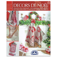 "Heft ""Decors de Noel"" – weihnachtliche Stickmuster."