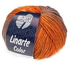 Linarte Color von Lana Grossa - % Angebot %, Olivgelb/Signalorange/Kupferbraun/Graubraun Linarte Color von Lana Grossa - % Angebot %