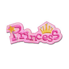 "Stick Applikation ""Princess"""