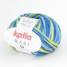 100 Blau-Wasserblau-Zitronengelb
