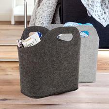 Trendige Filztaschen