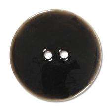 Jim Knopf Keramikeffekt-Knopf, Ø 51 mm, 1 Stück Keramikeffekt-Knopf