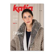 Heft – Katia Urban 99 In dieser Zeitschrift wird die neue Patagonia-Qualität präsentiert, da dieses Garn nur in diesem Magazin bearbeitet wird.