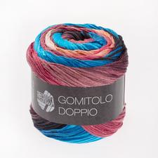 205 Lachs/Pink/Antikviolett/Blau/Brombeer/Türkis - breite Farbblöcke