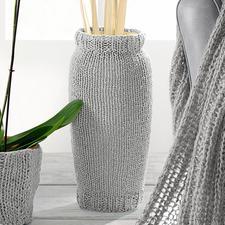 Modell 170/1, Vasenhülle aus Bandana von Junghans-Wolle