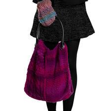 Modell 878/5, Komplettpackung Tasche aus Colorida von Junghans-Wolle