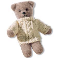 Modell 250/4, Teddy aus Poco mit Pulli aus Landwolle von Junghans-Wolle