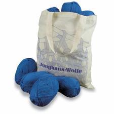 Handstrickgarn-Paket inklusive Einkaufsbeutel