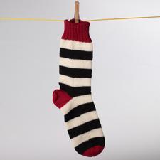Modell 804/3, Socken, aus Freizeit 4-fädig von Junghans-Wolle