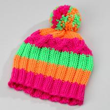 Modell 822/2, Neon-Damenmütze aus Linie 55 Montego von ONline