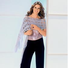 Modell 161/6, Schal aus Micro von Junghans-Wolle