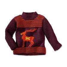 Anleitung 254/4, Pullover aus Merino-Extrafein von Junghans-Wolle