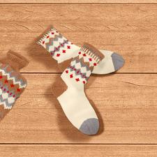 Modell 814/4, Socken aus Merino-Supersoft von Junghans-Wolle