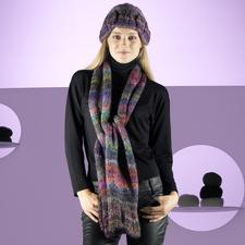 Modell 148/1, Mütze und Schal aus Mille Colori Big von LANG Yarns