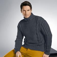 Anleitung 251/3, Pullover aus Uppland von Junghans-Wolle