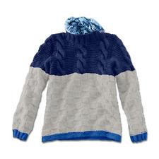 Modell 112/5, Pullover aus Clou von Junghans-Wolle
