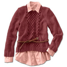 Modell 094/5, Pullover aus Merino-Classic von Junghans-Wolle