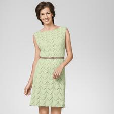 Modell 430/3, Damenkleid aus Dacapo von Junghans-Wolle