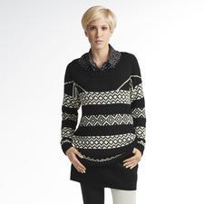 Modell 233/3, Pullover aus Peru von Junghans-Wolle