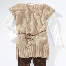 Modell 154/3, Tunika aus Ramolitto von Junghans-Wolle