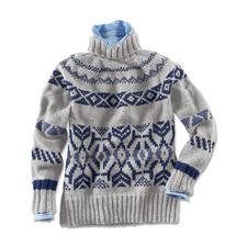 Anleitung 204/4, Pullover aus Landwolle von Junghans-Wolle