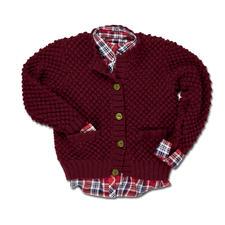 Modell 348/3, Jacke aus Merino-Classic von Junghans-Wolle