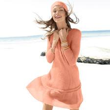 Modell 208/3, Kleid aus Suri Alpaka von ggh, Modell aus Rebecca Heft49 Modell 208/3, Kleid aus Suri Alpaka von ggh, Modell aus Rebecca Heft 49