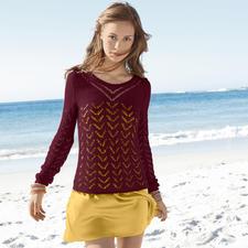 Modell 210/3, Pullover aus Suri Alpaka von ggh, Modell aus Rebecca 49 Modell 210/3, Pullover aus Suri Alpaka von ggh, Modell aus Rebecca Heft 49