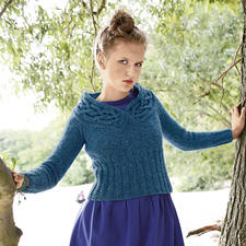 Modell 205/3, Pullover aus Topas von ggh, Modell aus Rebecca Heft 52