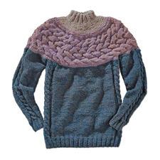 Anleitung 235/6, Pullover aus Winter-Jaspé von Junghans-Wolle