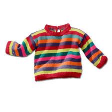 Modell 448/4, Babypulli aus Cotton-Superfine II von Junghans-Wolle